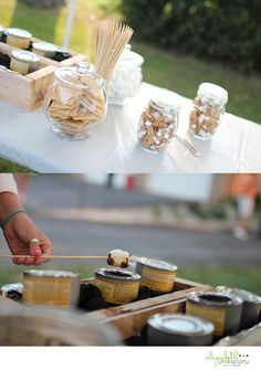 Engagement Party - S'more Table