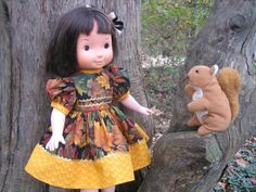 Autumn Leaves Outfit for Your Fisher Price My Friend Mandy Jenny Becky Doll   eBay