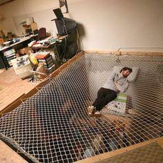 Quiero una cama así en mi oficina