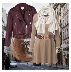"""""""New York New York"""" by dixson-emily on Polyvore featuring Reiss, Doublju, Wrap, Dolce Vita and Style & Co."""