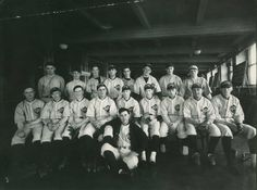 As the #baseball season begins, here is the GPO baseball team from the 1920s. Play ball!