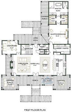 Carolina Kite First Floor Plan
