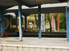 station, trains, tag, colors, photography, charleroi