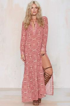 For Love & Lemons Geneva Maxi Dress - Dresses