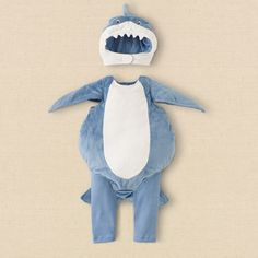 newborn - boys - shark costume | Children's Clothing | Kids Clothes | The Children's Place