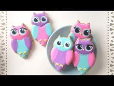 How To Decorate Owl Cookies!SweetAmbs