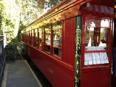 Have you ever been inside the Lillie Belle on the Disneyland Railroad?