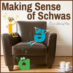 "In All About Reading and All About Spelling, we don't use the term ""schwa"" with the student. Instead, we teach several strategies to help children deal with words that have muffled vowel sounds in the unaccented syllable"
