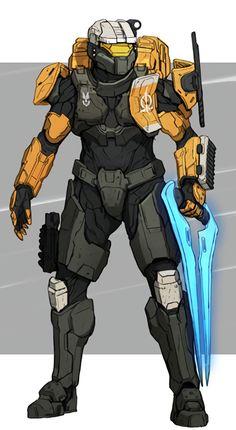 sci fi games and designs vegan vietnamese slaw - Vegan Coleslaw Armadura Do Halo, Armor Concept, Concept Art, Halo Armor, Halo Sword, Halo Reach Armor, Halo Spartan Armor, Odst Halo, Halo Cosplay