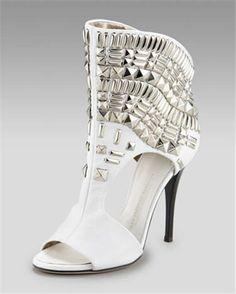 Giuseppe Zanotti Studded Cutout Boot