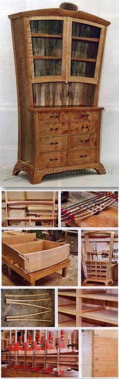 Making Curved Furniture - Furniture Plans and Projects | WoodArchivist.com