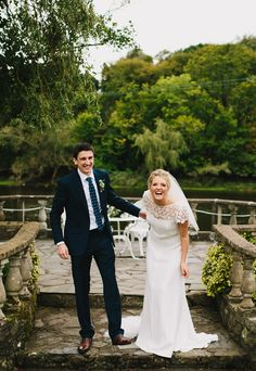 Throwback to Rebecca & Craig's fun, relaxed wedding at Innishannon House Hotel 😁 ❤️ 📷 @confettimagazine