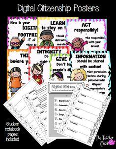 Digital Citizenship Rocks! from The Teacher Chick