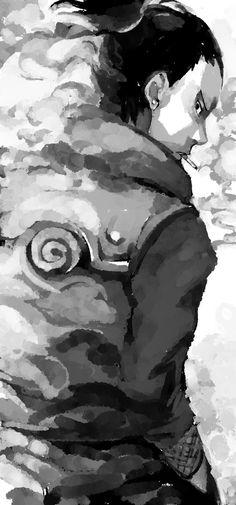 Shika is resembling like Asuma : Naruto Anime Naruto, Manga Anime, Naruto Fan Art, Kakashi Sensei, Madara Uchiha, Naruto Shippuden Anime, Manga Art, Shikamaru Wallpaper, Wallpaper Naruto Shippuden