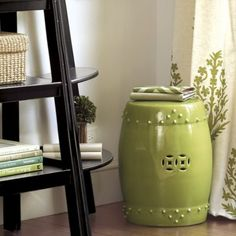 I want two garden stools - One green one for my bedroom and a white one for my living room! $139