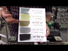 New Distress Color: June 2015  HICKORY SMOKE  - YouTube