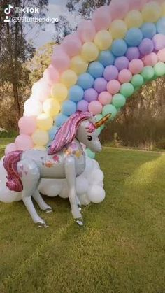 21 Balloons, Balloons Galore, Pastel Balloons, Rainbow Balloons, Baby Shower Balloons, Balloon Garland, 1st Birthday Girl Decorations, 1st Birthday Balloons, Unicorn Birthday Parties