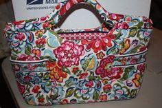 Vera Bradley Hope Garden Gabby Handbag. Starting at $20 on Tophatter.com!