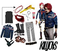 """""""Party Poison"""" by risvo ❤ liked on Polyvore"""