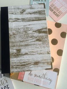 Handmade Agenda 2016 All Heart, Happy New Year Everyone, Bookbinding, New Life, Something To Do, Projects, Handmade, Log Projects, Blue Prints