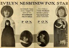 """Photo from album """"Evelyn Nesbit"""" on Yandex. Evelyn Nesbit, Vintage Advertisements, Vintage Ads, Crime Of The Century, You Ruined Me, Girls Cuts, Ghost Photos, Vincent Price, Gibson Girl"""