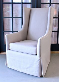 Wingback chairs instead of traditional dining chairs at the head of table? - 30% OFF at Post & Gray