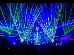 """Lasershow zum Auftritt von """"VNV NATION"""" beim LEA Award 2013 mit tarm Showlaser - YouTube"""