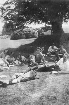 Students at Dunford House, 1920