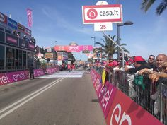 Almost ready in Olbia  #Giro100  https://t.co/yrfphzI95d