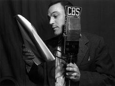 Gene Kelly reading a script