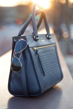 Women who want to make a fashion statement with their handbag purse don't need to look beyond Kate Spade purses ever growing line of creations. Leather Purses, Leather Handbags, Mini Mochila, Satchel, Crossbody Bag, Kate Spade Purse, Beautiful Bags, Hello Beautiful, My Bags