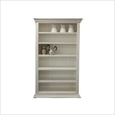 Adjustable Open Bookcase Ivory House | Wayfair