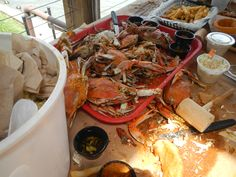 Maryland Crab Bake - Cantler's Restaurant, Annapolis, MD