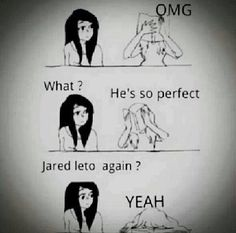 Me everyday lol Jared Leto ❤️