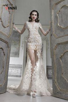 Sogni di indossare un abito da sposa sexy ma elegante? modello della collezione 2017 Dalin & Vinni'