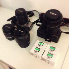Attrezzatura fotografica pronta, si parte per #cowinningacquaviva