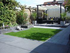 voorbeeld 1 tuin met kunstgras