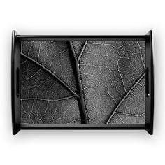 Detail leaf in artistic black and white Coffee Tra> Black and white leaf veins> Victory Ink Tshirts and Gifts