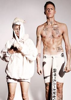 South Africa (represent!)    Die Antwoord, rocking the new cd like crazy
