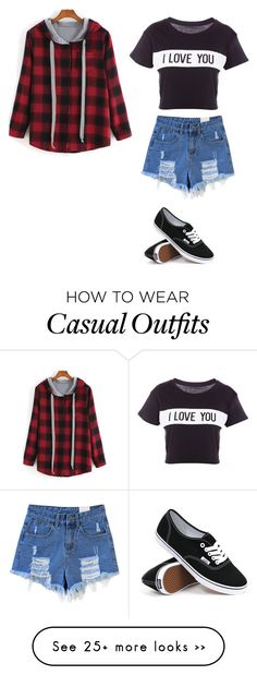 """Casual"" by sweet-chick33 on Polyvore featuring Lovers + Friends and Vans"
