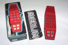 Merlin handheld electronic game. Pretty sure I still have mine...