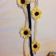 For Sale: Sunflower Headband  for $3