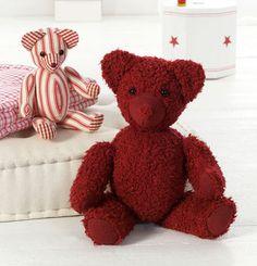 burda style, Schnittmuster, Stofftier - Den Bär können Sie in zwei Größen nähen, so erhalten Sie nach und nach eine kleine Bärenfamilie