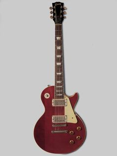 """Lucy, the '68 Gibson Les Paul owned at different times by John Sebastian, Rick Derringer, Eric Clapton, and George Harrison. Clapton used this guitar to record the lead on The Beatles' """"While My Guitar Gently Weeps."""" Harrison named the guitar after Lucille Ball."""
