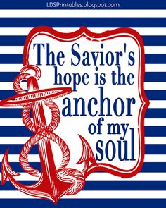 Jesus is my anchor!