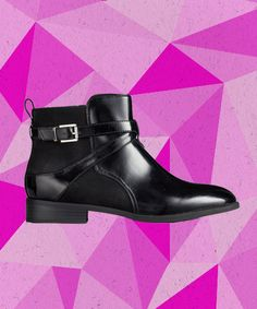 The 24 Most Perfect Flat Boots For Fall #refinery29  http://www.refinery29.com/comfortable-flat-boots