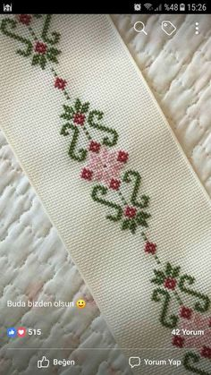 Thrilling Designing Your Own Cross Stitch Embroidery Patterns Ideas. Exhilarating Designing Your Own Cross Stitch Embroidery Patterns Ideas. Beaded Cross Stitch, Cross Stitch Borders, Cross Stitch Flowers, Cross Stitch Designs, Cross Stitching, Cross Stitch Embroidery, Cross Stitch Patterns, Hand Embroidery Videos, Embroidery Patterns