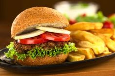 A tasty burger patty that's high in fiber and folate and easy to prepare. Serve on a whole wheat bun with your favorite toppings. via @SparkPeople