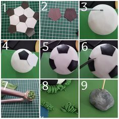 The Effective Pictures We Offer You About Football Cake real madrid A quality picture can tell you m Football Birthday Cake, Baby Boy Birthday Cake, Cake Decorating Videos, Cake Decorating Techniques, Cake Boarders, Liverpool Cake, Soccer Ball Cake, Fake Cake, Zucchini Cake