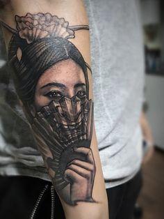 Shay big boobs koi tattoo